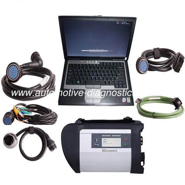 V2012.11 MB SD Connect Compact 4 Mercedes Diagnostic Tool with DELL D630 Laptop Support Offline Programming