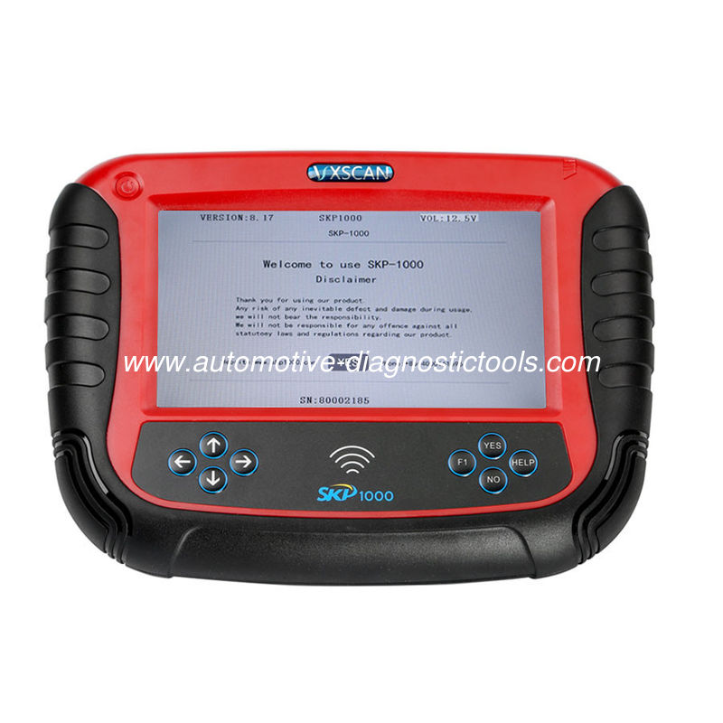 2017 V18.9 SKP1000 Tablet Car Key Programmer With  mileage correction,remote controller, Oil/service Reset