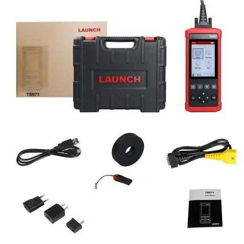 LAUNCH TS971 TPMS Bluetooth Sensor Tire Pressure Tester With Multi function