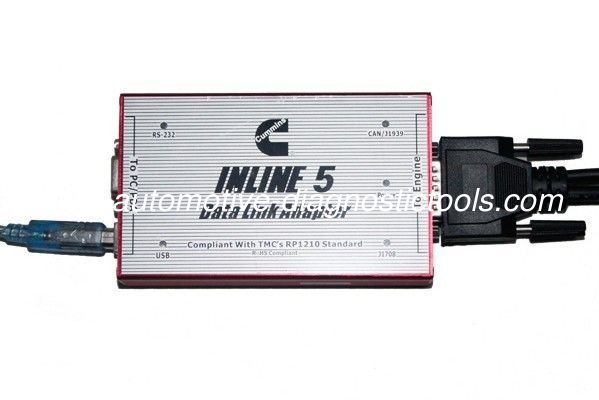 Cummins INLINE 5 INSITE 7.62 Truck Diagnostic Tool Based On PC, Support Multi-language
