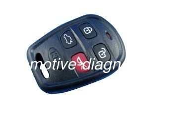 Kia Remote Key Shell 4 Button, Remote Control Kia Car Smart Key Case / Blank