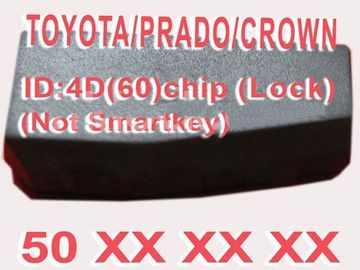 China Toyota/microplaqueta Duplicable do identificador da chave do carro microplaqueta 50xxx de Prado/coroa 4D60 fábrica